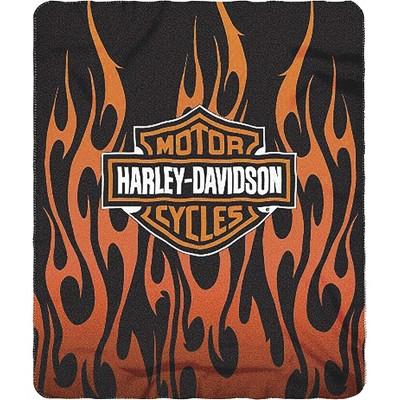 The Northwest Company HARLEY DAVIDSON   FLAMES LOGO, Orange