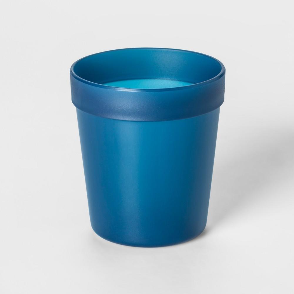 8oz Plastic Kids Short Tumbler Blue - Pillowfort