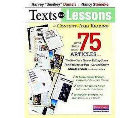Texts and Lessons for Content-Area Reading (Paperback) (Harvey Daniels & Nancy Steineke) - image 1 of 1