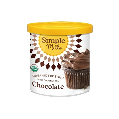Frosting & Decorations: Simple Mills Chocolate Frosting