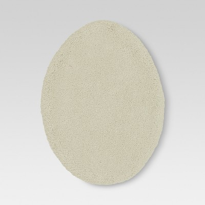 Performance Solid Toilet Lid Cover Cream - Threshold™