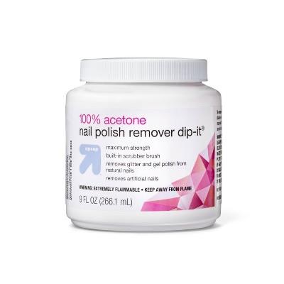 Maximum Strength Acetone Nail Polish Remover - 9 fl oz - up & up™