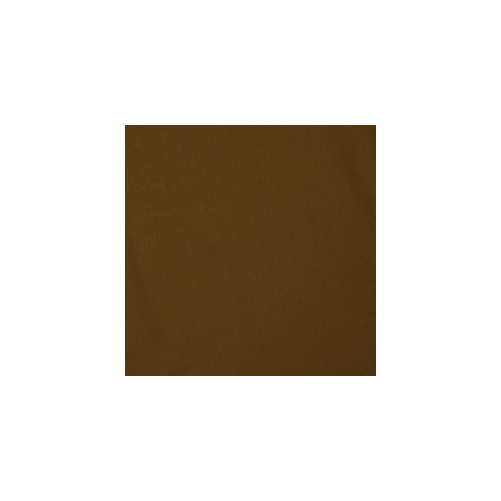 Image of Bacati Percale Fitted Crib Sheet - Chocolate