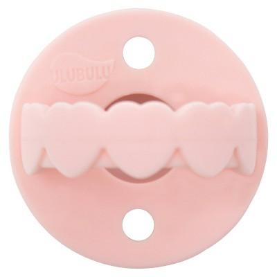 Ulubulu Heart Bulu Soother 0+ Months - Pink