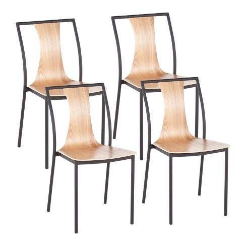 Set of 4 Osaka Contemporary Chair - LumiSource - image 1 of 8