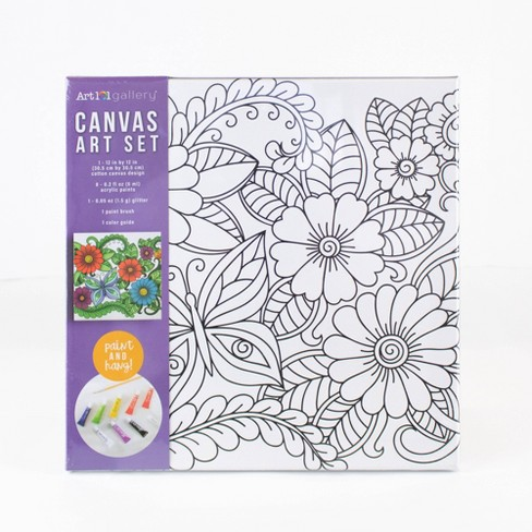 Art 101 Gallery Canvas Art Set - Floral - image 1 of 4