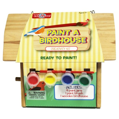 T.S. Shure - Wooden Paint a Bird House - image 1 of 2