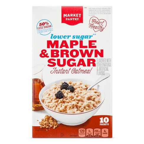 Instant Oatmeal - 10ct - Market Pantry