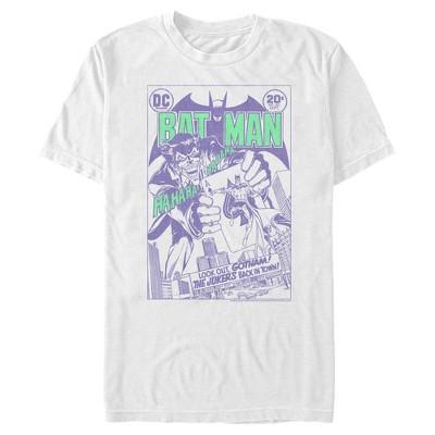Men's Batman Joker Back in Town T-Shirt