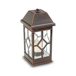 "San Felipe Ii 15"" LED Solar Outdoor Lantern - Smart Solar"