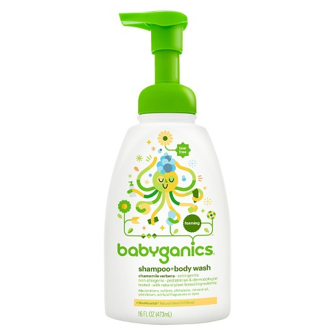 non-toxic baby shampoo and body wash