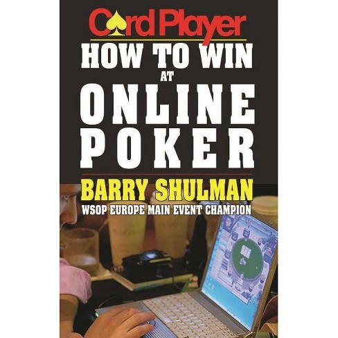 How to Win at Online Poker - by  Barry Shulman (Paperback) - image 1 of 1