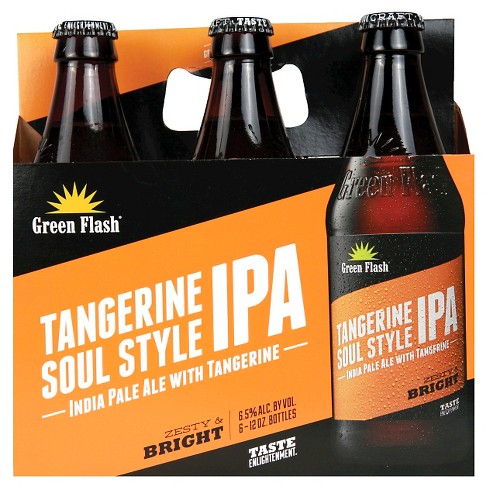 Green Flash® Tangerine Soul Style IPA - 6pk / 12oz Bottles - image 1 of 2