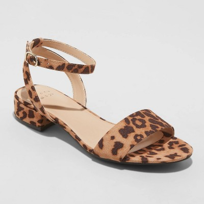 Women's Winona Ankle Strap Sandals - A New Day™