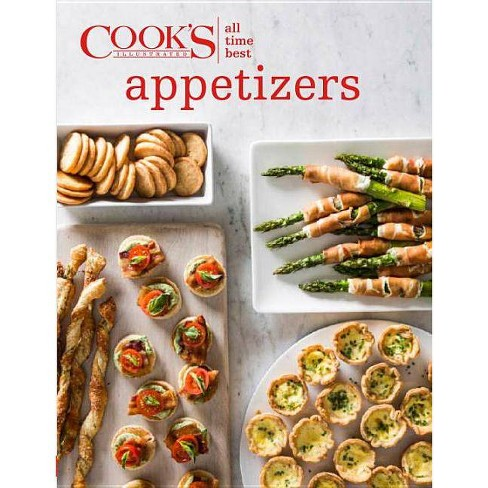 All Time Best Appetizers - (All-Time Best) (Hardcover) - image 1 of 1