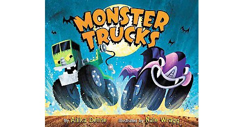 Monster Trucks (School And Library) (Anika Denise) - image 1 of 1
