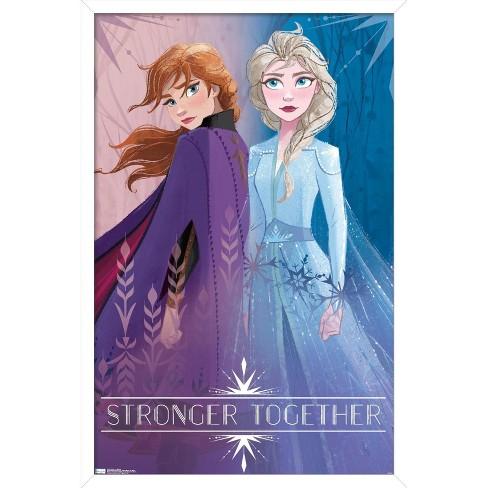 Trends International Disney Pixar Frozen 2 - Sisters Unframed Wall Poster Print - image 1 of 4