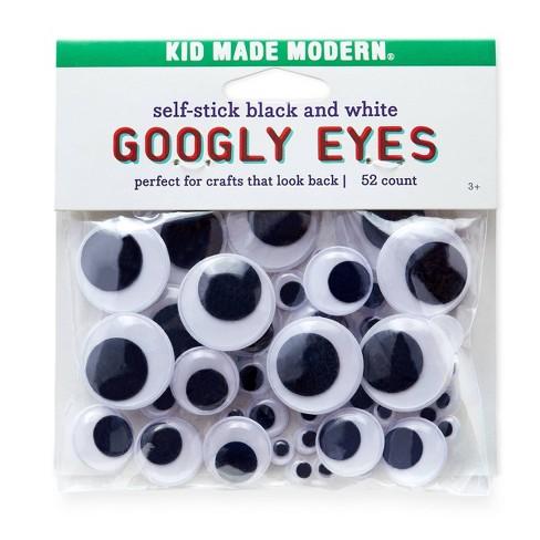 Kid Made Modern 52ct Self-Stick Googly Eyes - image 1 of 4