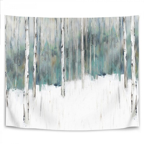 Americanflat Winters Trail I By Pi Creative Art Wall Tapestry Target