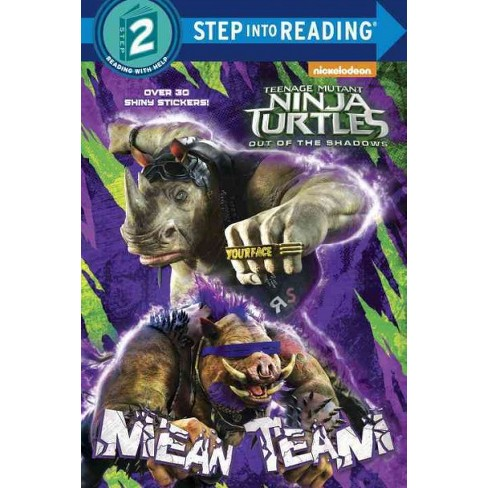 Mean Team (Teenage Mutant Ninja Turtles: Out of the Shadows) - (Step Into Reading - Level 2) (Paperback) - image 1 of 1