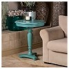 Magee Accent Table Blue - Treasure Trove - image 2 of 2