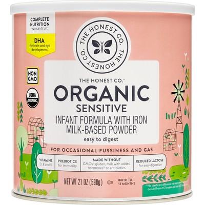 Baby Formula: Honest Organic Sensitive