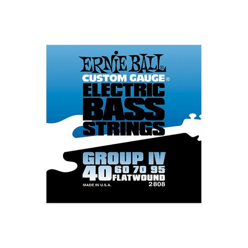 Ernie Ball 2808 Flat Wound Group IV Electric Bass Strings - image 1 of 1