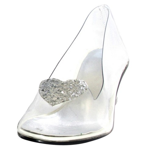 Womens Cinderella Clear Costume Shoes Target