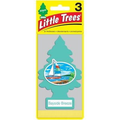 Little Trees Bayside Breeze Air Freshener 3pk