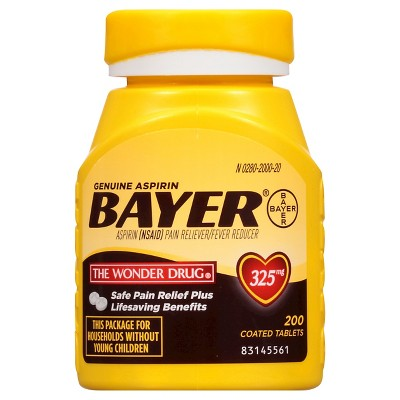 Pain Relievers: Bayer