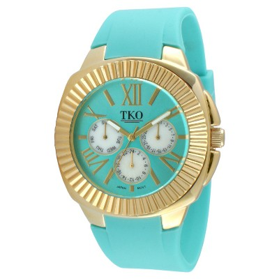 Women's TKO® Multiple Function Rubber Strap Watch