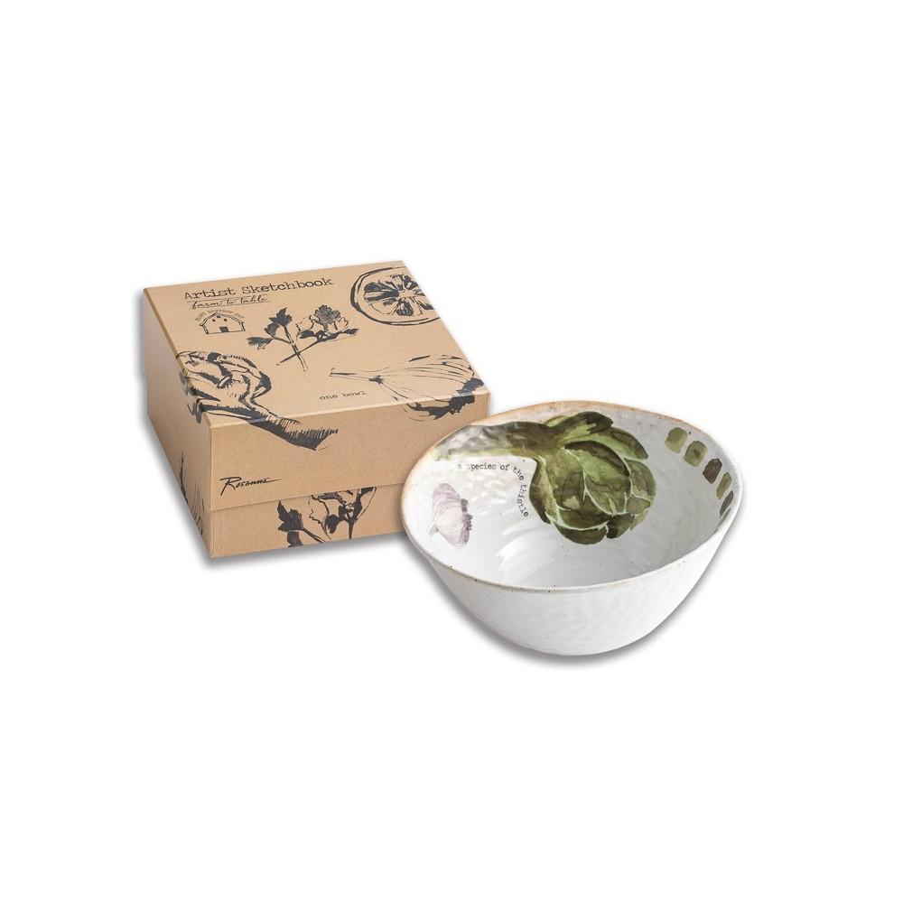 32oz Porcelain Farm To Table Salad Bowl Rosanna