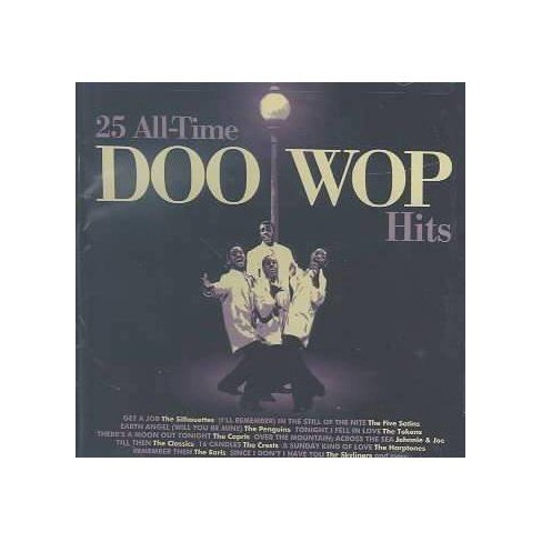 Various - 25 All Time Doo Wop Hits (CD) - image 1 of 1