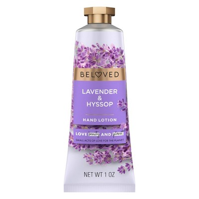Beloved Lavender & Hyssop Hand Cream Lotion - 1oz