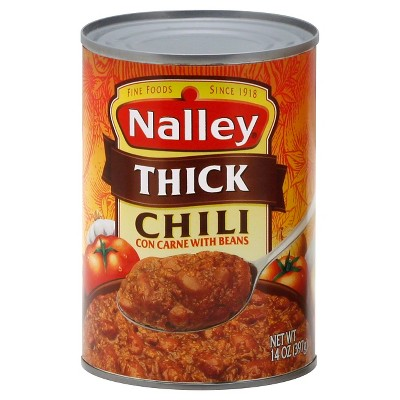 Nalley Thick Chili Con Carne with Beans 14oz