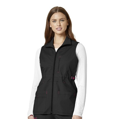 WonderWink Women's Utility Zip Fashion Vest