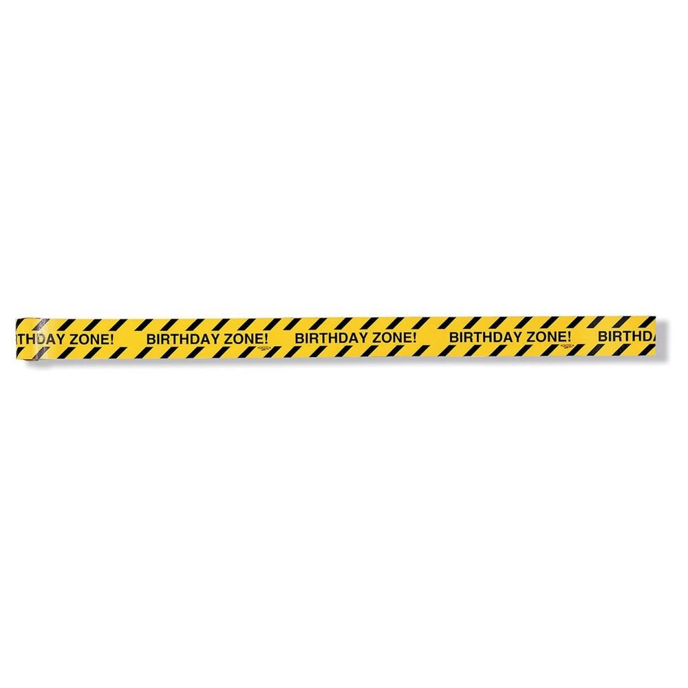 Image of Under Construction Warning Tape