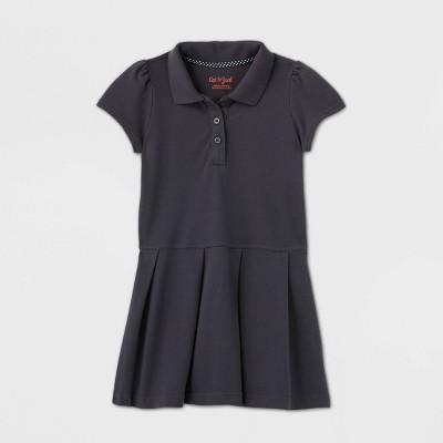 Toddler Girls' Short Sleeve Pleated Uniform Tennis Dress - Cat & Jack™