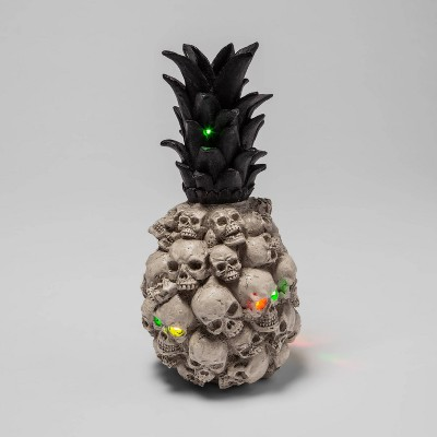 Light Up Skull Pineapple Halloween Decor - Hyde & EEK! Boutique™