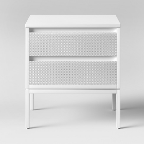 Metal Nightstand White - Pillowfort™ - image 1 of 3