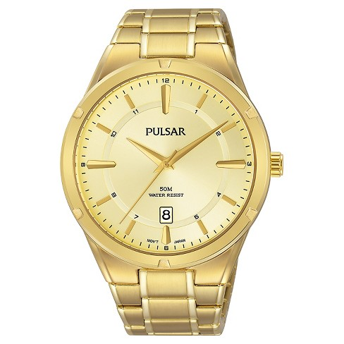 Men's Pulsar - Gold Tone with Champagne Dial - PS9524 - image 1 of 1