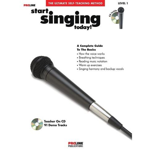 Proline Start Singing Today Book/CD