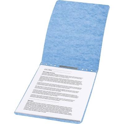 "ACCO Presstex Report Cover Prong Clip Letter 2"" Capacity Light Blue 17022"