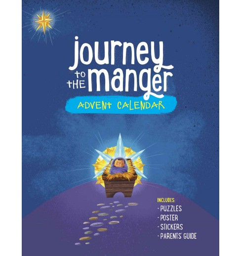 Journey to the Manger Advent Calendar (Paperback) - image 1 of 1