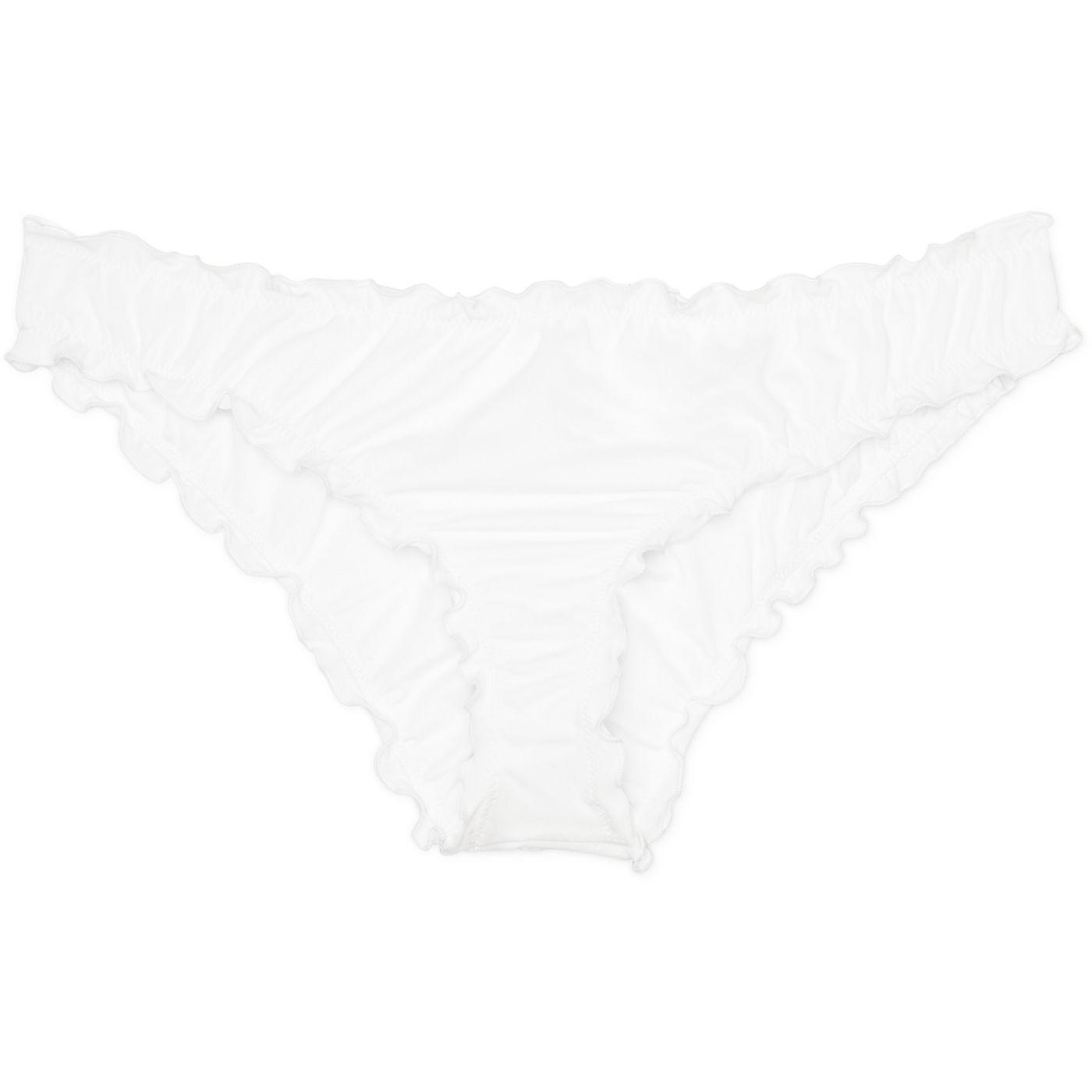 Women's Wave Ruffle Cheeky Bikini Bottom - Shade & Shore - image 4 of 15