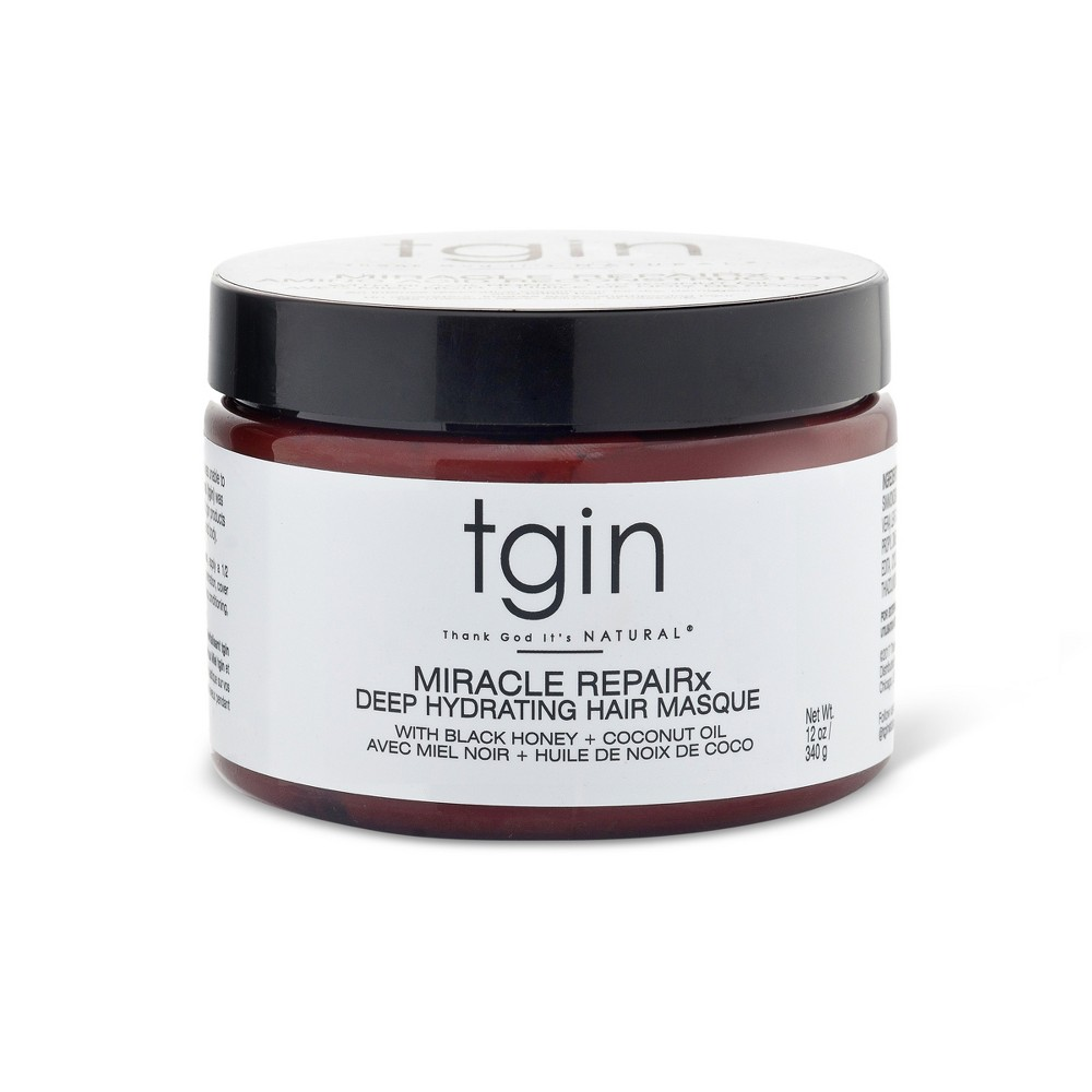 Image of TGIN Miracle Repairx Deep Hydrating Hair Masque - 12oz