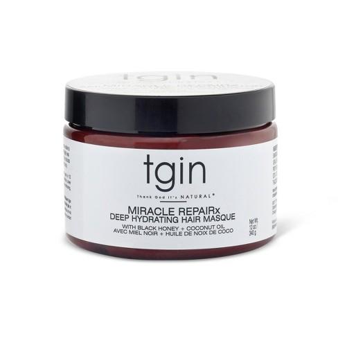 TGIN Miracle Repairx Deep Hydrating Hair Masque - 12oz - image 1 of 4