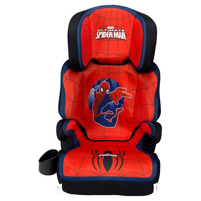 KidsEmbrace Marvel Ultimate Spider-Man High Back Booster Car Seat - image 1 of 4