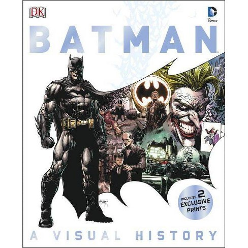 Batman: A Visual History - by  Matthew K Manning (Hardcover) - image 1 of 1