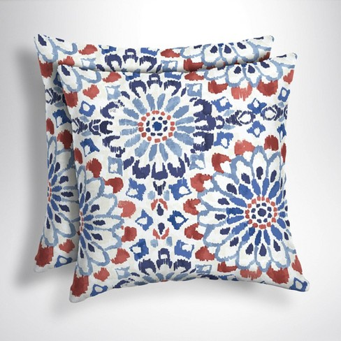 2pk Clark Square Outdoor Throw Pillows Arden Selections Target